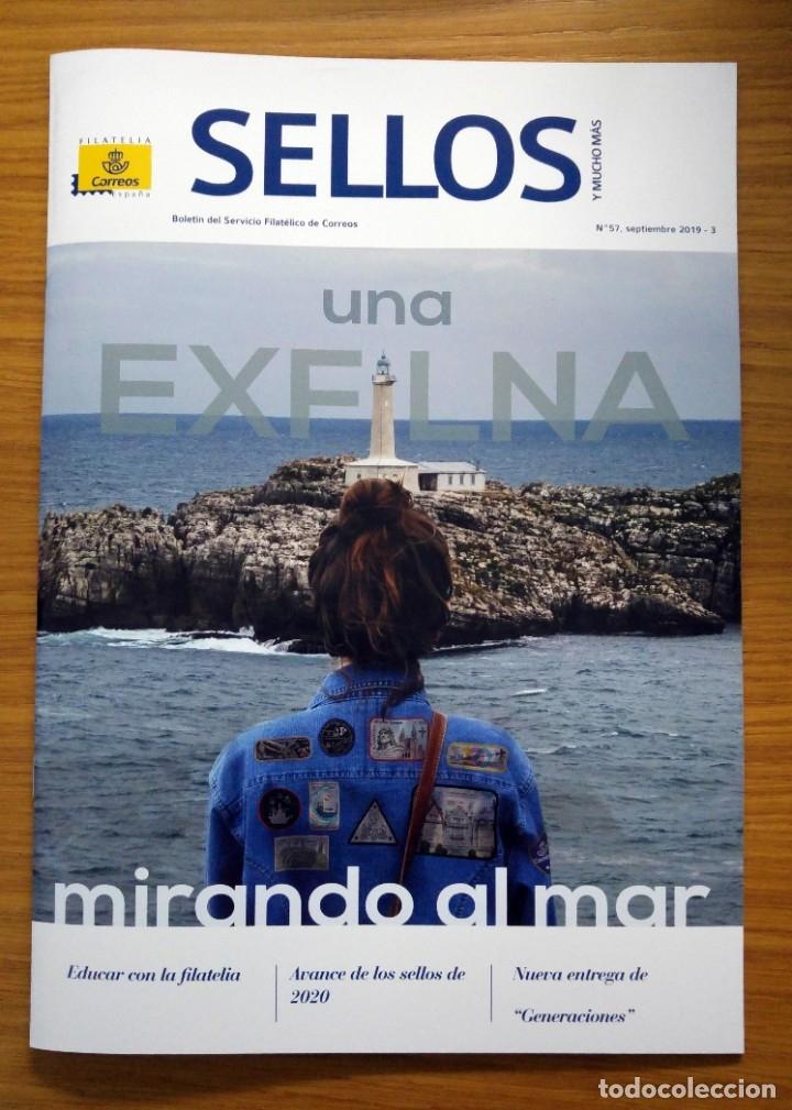 Sellos: SELLOS: Lote de 2 revistas filatélicas nº 56 y 57 - Foto 2 - 177816464