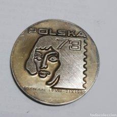 Sellos: MEDALLA EXPOSITION PHILATELIQUE MONDIALE POLSKA 1973 POZNAN. Lote 180077733