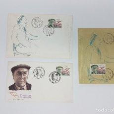 Sellos: 3 SELLOS ( MATA SELLOS ) FUNDACIÓ JOSEP PLA, 1994. Lote 180258242