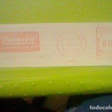 Sellos: PRINTEX PUBLICIDAD MATASELLOS RODILLO ROJO 1971 RECORTADO 14 CMS APROX LARGO. Lote 182746553