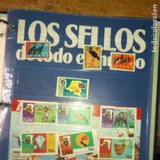 Sellos: LOS SELLOS DE TODO EL MUNDO PLANETA AGOSTINI AÑO 1989 , FASCICULO + SELLO NUMERO 3 ZAIRE. Lote 182837770