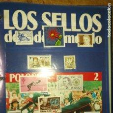 Sellos: LOS SELLOS DE TODO EL MUNDO PLANETA AGOSTINI AÑO 1989 , FASCICULO + SELLO NUMERO 2 POLONIA. Lote 182837846