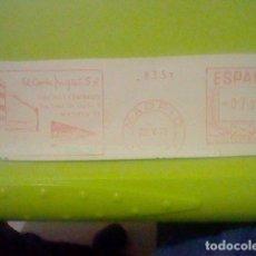 Sellos: CORTE INGLES MADRID MATASELLO RODILLO 22 V 1971 RECORTADO 14 CMS APROX LARGO. Lote 182864386