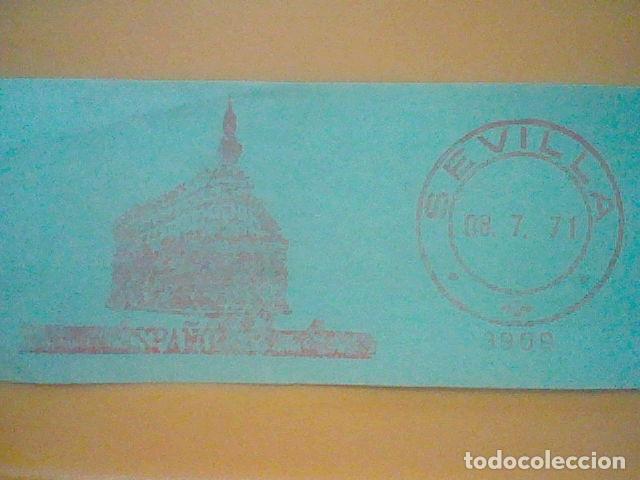Sellos: SEVILLA MATASELLO RODILLO 1971 RECORTADO 12 CMS APROX LARGO - Foto 2 - 182879110
