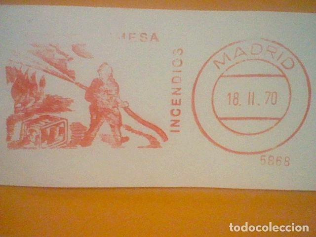 Sellos: INCENDIOS MATASELLO RODILLO 1970 RECORTADO 12 CMS APROX LARGO - Foto 2 - 182879368