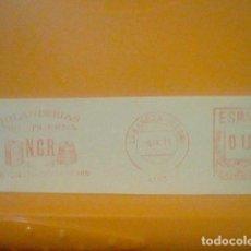 Sellos: HILANDERAS DUERNA BAÑEZA LEON MATASELLO RODILLO 1971 RECORTADO 14 CMS APROX LARGO. Lote 182880766