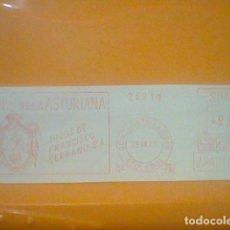 Sellos: ANIS ASTURIANA QUINTANAR ORDEN TOLEDO MATASELLO RODILLO 1971 RECORTADO 14 CMS APROX LARGO. Lote 182881013
