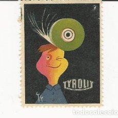 Sellos: VIÑETA TYROLYT AÑO 1967 . Lote 183061872