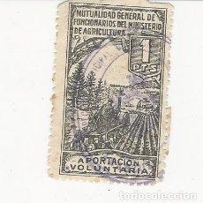 Sellos: MUTUALIDAD GENERAL DE FUNCIONARIOS DEL MINISTERIO DE AGRICULTURA. Lote 183063401