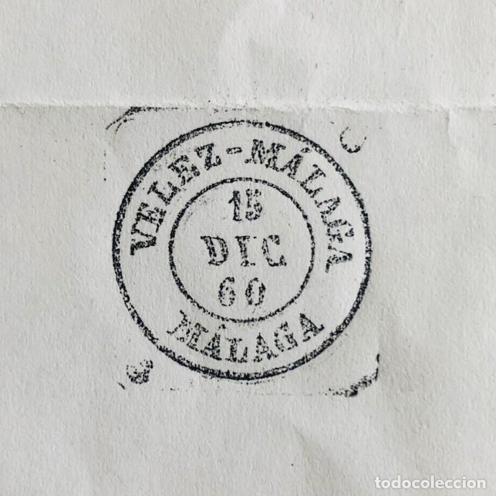 Sellos: VELEZ - MÁLAGA, MÁLAGA. 1960. FECHADOR CUÑO FILATÉLICO. SELLO TAMPÓN. RARO. - Foto 3 - 186713547