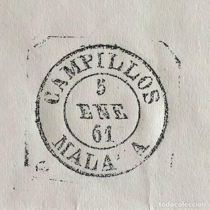 Sellos: CAMPILLOS, MÁLAGA. 1961. FECHADOR CUÑO FILATÉLICO. SELLO TAMPÓN. RARO. - Foto 3 - 186715455