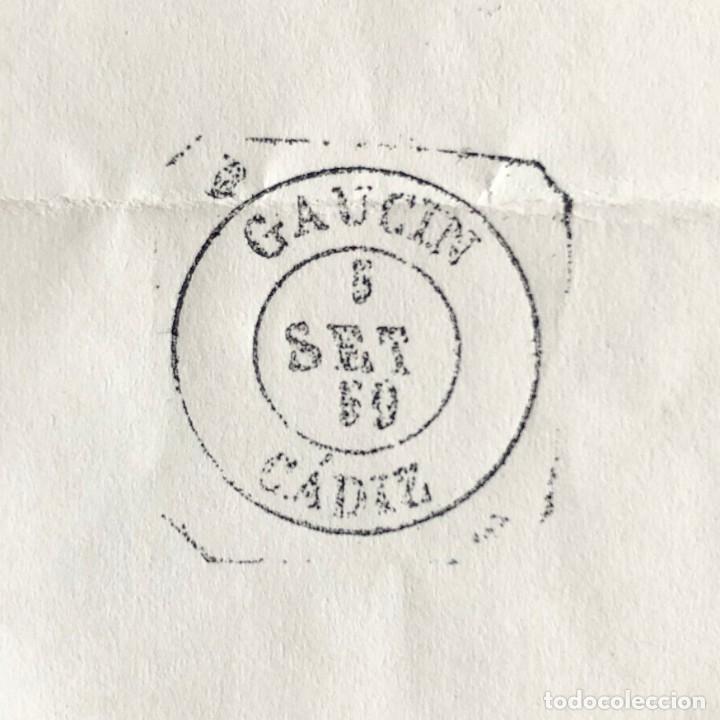 Sellos: GAUCIN, CÁDIZ. 1959. FECHADOR CUÑO FILATÉLICO. SELLO TAMPÓN. RARO. - Foto 3 - 186719483