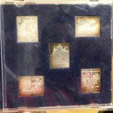 Sellos: ESTUCHE COLECCION SELLOS DE CADIZ EN PLATA. Lote 187498156