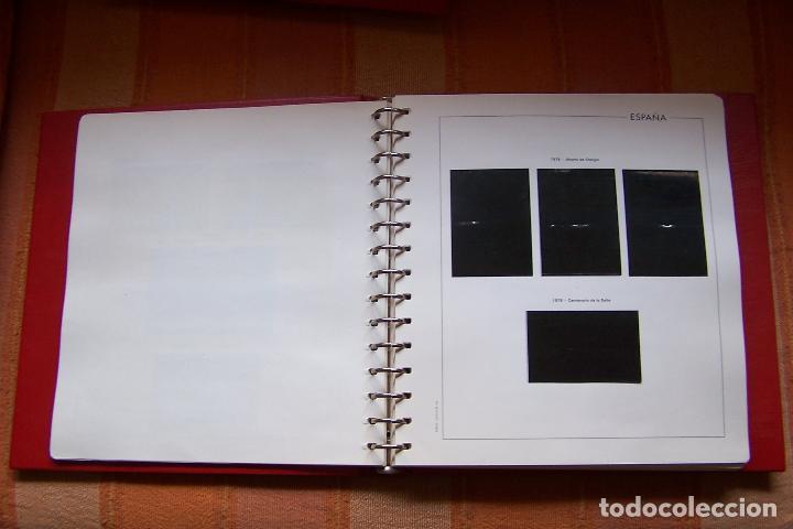 Sellos: ÁLBUM DE SELLOS CON HOJAS EDIFIL Y ESTUCHE DE PROTECCIÓN. AÑOS 1978 AL 1982 MONTADOS. - Foto 5 - 189114435