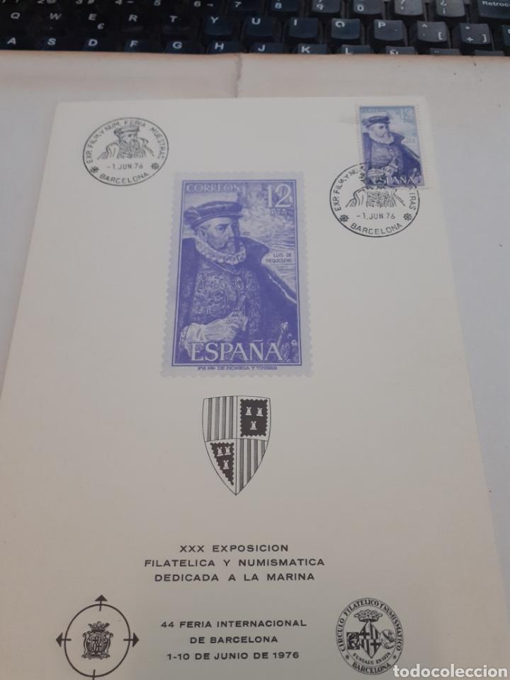 Sellos: Filatelia .sobre y hojas filatélicas - Foto 3 - 191627932