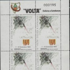 Selos: LOTE V-SELLOS VIÑETAS CICLISMO VUELTA CATALUÑA. Lote 209420942