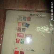 Sellos: LOTE SELLOS ANTIGUOS MONACO . Lote 194173182