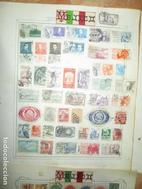 Sellos: MAXICO MEJICO lote sellos antiguos MUY INTERESANTES Y DIFICIL CONSEGUIR - Foto 3 - 194197832