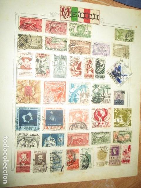 Sellos: MAXICO MEJICO lote sellos antiguos MUY INTERESANTES Y DIFICIL CONSEGUIR - Foto 2 - 194197832