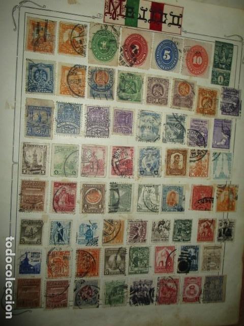 Sellos: MAXICO MEJICO lote sellos antiguos MUY INTERESANTES Y DIFICIL CONSEGUIR - Foto 4 - 194197832