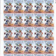 Sellos: SELLOS DE WALT DISNEY MINI SERIE DE 6 PLIEGOS DE 25 SELLOS DE BEQUIA 1989. Lote 245104205