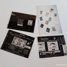 Selos: RAROS NEGATIVOS Y O HOJAS TIPO RADIOGRAFIAS SELLOS Y FOTOGRAFIA SELLOS - 12 X 9.CM Y 15 X 10.CM. Lote 198321338