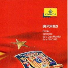 Sellos: ESPAÑA.- FOLLETO DE INFORMACIÓN FILATÉLICA AÑO 2010, EN NUEVO. Lote 198562541