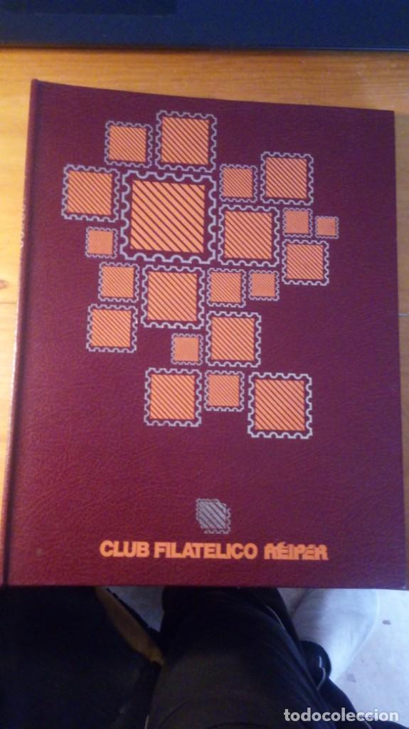 ARCHIVADOR ALBUM PARA SELLOS REIPER - CLUB FILATELICO (Sellos - Material Filatélico - Otros)