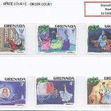 Sellos: SELLOS WALT DISNEY SERIE CORTA. GRENADA 1981. NAVIDAD. Lote 294492498