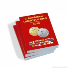 Timbres: LEUCHTTURM 361353 CATÁLOGO DEL EURO DE LAS MONEDAS Y BILLETES 2020, FRANCÉS. Lote 204024497
