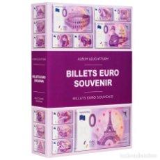 Timbres: LEUCHTTURM 349260 ÁLBUM PARA 420 BILLETES EURO SOUVENIR. Lote 204027232