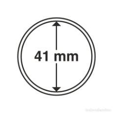 Timbres: LEUCHTTURM 334928 CÁPSULAS DE MONEDAS DIÁMETRO INTERIOR 41 MM. Lote 204029877