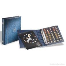 Timbres: LEUCHTTURM 336883 ÁLBUM DE MONEDAS DE EURO EN FORMATO OPTIMA, AZUL. Lote 204029950