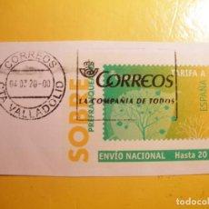 Sellos: ESPAÑA - VIÑETA - PREFRANQUEADOS - VALLADOLID.. Lote 204425052