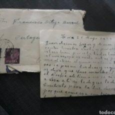 Sellos: CARTA MANUSCRITA DE TORO A MADRID . AÑO 1959 .. Lote 204708883