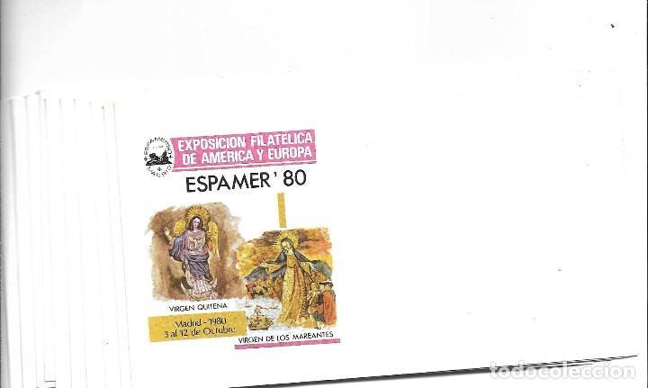Sellos: ESPAÑA LOTE 47 SOBRE DE 1º DIA SE ESPAMER 80 NUEVOS SIN FRANQUEAR - Foto 3 - 205241232