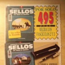 Sellos: PUBLICIDAD CONOCER Y COLECCIONAR SELLOS DE TODO EL MUNDO - PLANETA AGOSTINI. Lote 205255417
