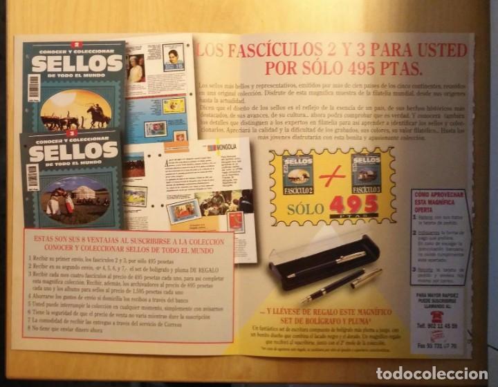 Sellos: Publicidad Conocer y Coleccionar SELLOS de todo el mundo - Planeta Agostini - Foto 2 - 205255417