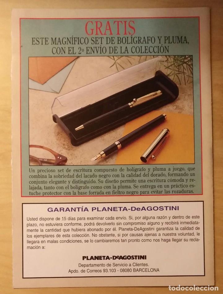 Sellos: Publicidad Conocer y Coleccionar SELLOS de todo el mundo - Planeta Agostini - Foto 3 - 205255417
