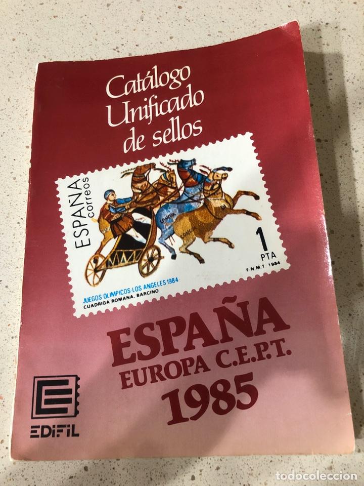 CATÁLOGO EDIFIL AÑO 1985 (Sellos - Material Filatélico - Otros)