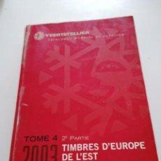 Sellos: CATALOGO IVER&TELLIER.2003.SELLOS EUROPA DEL ESTE ( RUMANIA A UCRANIA ). Lote 207111362