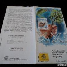 Sellos: INFORMACION FILATELICA DE CORREOS AMERICA UPAEP 1999. Lote 207215477