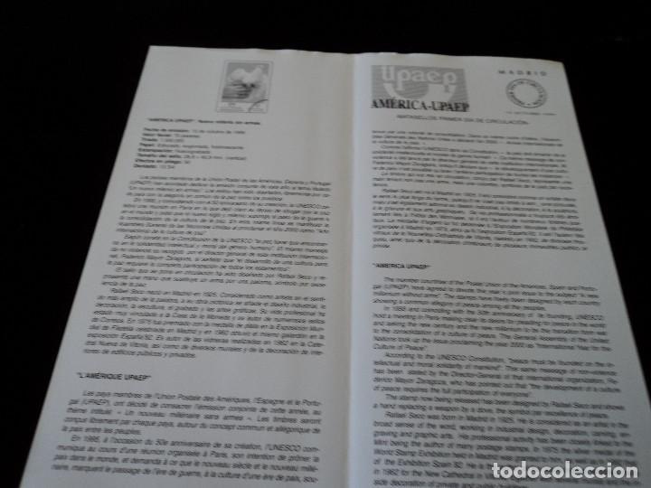 Sellos: INFORMACION FILATELICA DE CORREOS AMERICA UPAEP 1999 - Foto 2 - 207215477