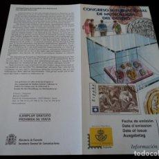 Sellos: INFORMACION FILATELICA DE CORREOS MUSEOLOGIA DEL DINERO 1999. Lote 207215655