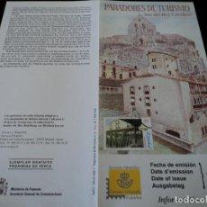 Sellos: INFORMACION FILATELICA DE CORREOS PARADOR SOS DEL REY CATOLICO 2000. Lote 207217841