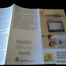 Sellos: INFORMACION FILATELICA DE CORREOS TELEVISIONES 2000. Lote 207339068