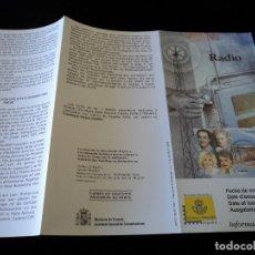 Sellos: INFORMACION FILATELICA DE CORREOS RADIOS 2000. Lote 207339130