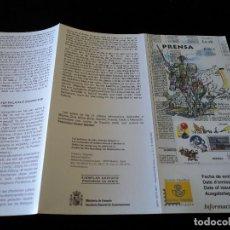 Sellos: INFORMACION FILATELICA DE CORREOS PRENSA 2000. Lote 207339177