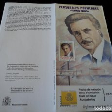 Sellos: INFORMACION FILATELICA DE CORREOS ALFREDO KRAUS 2000. Lote 207339246