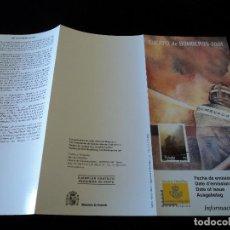 Sellos: INFORMACION FILATELICA DE CORREOS CUERPO DE BOMBEROS 2001. Lote 207339751